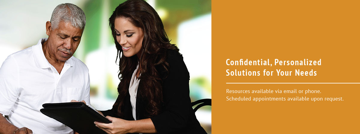 Confidential, Personalized Solutions for Your Needs